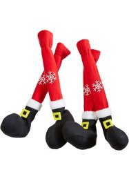 Stoelsokken Santa (set van 4), bpc living bonprix collection