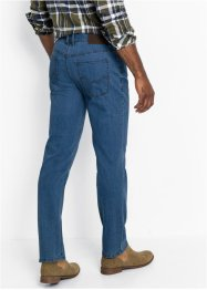 Regular fit stretch jeans, straight (set van 2), John Baner JEANSWEAR