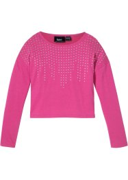 Longsleeve met studs, bpc bonprix collection