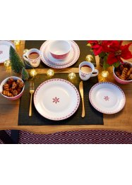 Servies «Kerst» (16-dlg. set), bpc living bonprix collection
