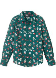 Overhemd met kerstprint, slim fit, bpc bonprix collection