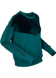 Thermoshirt met fluweel, bpc bonprix collection