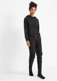 Fleece hoodie en broek (2-dlg. set), bpc bonprix collection