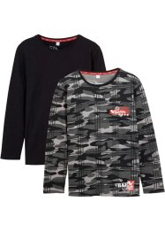 Longsleeve (set van 2), bpc bonprix collection