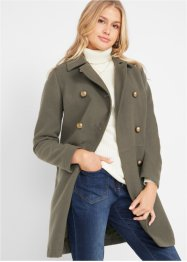 Korte coat in wollen look, bpc bonprix collection