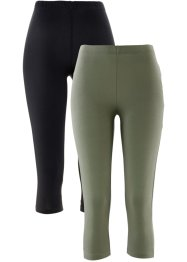 Stretch capri legging (set van 2), bpc bonprix collection
