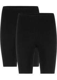 Korte legging met stretch (set van 2), bpc bonprix collection