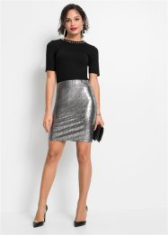 Rok in metallic look, BODYFLIRT