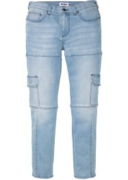 Slim fit cargo stretch jeans, straight, John Baner JEANSWEAR