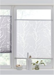 Jacquard plisségordijn met ranken, bpc living bonprix collection