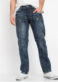 Regular fit jeans, straight, RAINBOW