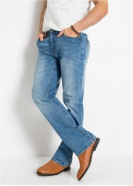 Slim fit stretch jeans, bootcut, John Baner JEANSWEAR