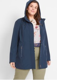 Softshell parka met contrastnaden, bpc bonprix collection