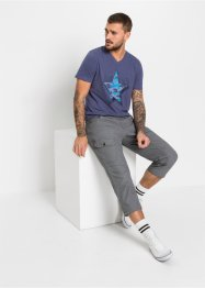 Loose fit 7/8 broek, straight, RAINBOW