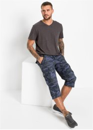 3/4 cargo broek, regular fit, RAINBOW