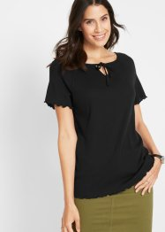 Shirt met strikkoordjes, bpc bonprix collection