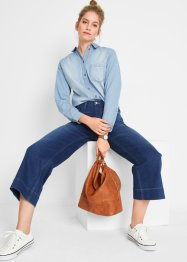 Supersoft stretch jeans culotte, John Baner JEANSWEAR