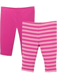 Baby legging (set van 2), biologisch katoen, bpc bonprix collection