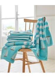Handdoek met zeilboten, bpc living bonprix collection
