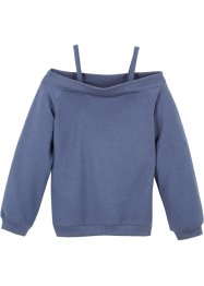 Sweater met carmenhals, bpc bonprix collection