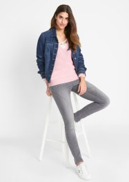 Trui in layerlook, John Baner JEANSWEAR
