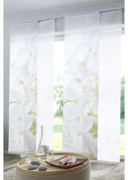 Paneelgordijn met orchideeën (set van 2), bpc living bonprix collection