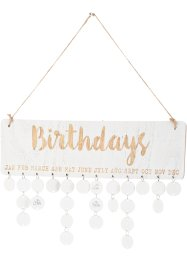 Verjaardagskalender, bpc living bonprix collection