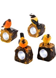 Solar decoratie vogels (4-dlg. set), bpc living bonprix collection