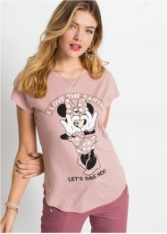 T-shirt met Minnie Mouse, RAINBOW