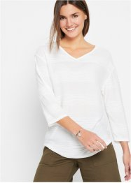 Boxy shirt met structuur, bpc bonprix collection