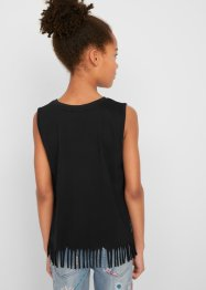 Top met franjes, bpc bonprix collection