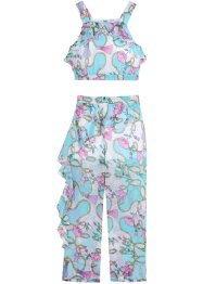 Top en broek met volants (2-dlg. set), bpc bonprix collection