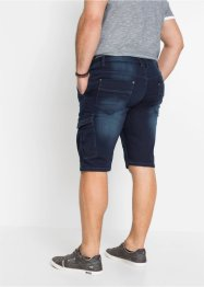 Stretch jeans bermuda, regular fit, John Baner JEANSWEAR