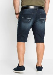 Slim fit stretch jeans bermuda, John Baner JEANSWEAR