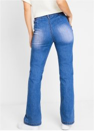 Duurzame jeans van gerecycled polyester, bootcut, bpc bonprix collection