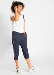 Capri broek in denim look, John Baner JEANSWEAR