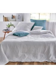 Sprei met crinkle effect, bpc living bonprix collection