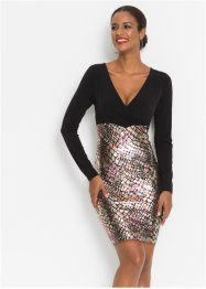 Jurk in metallic look, BODYFLIRT boutique