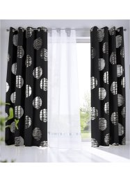 Verduisterend gordijn met glanzende print (1 stuk), bpc living bonprix collection