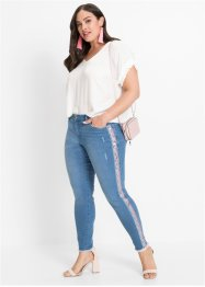 Jeans met gedessineerde tape, BODYFLIRT