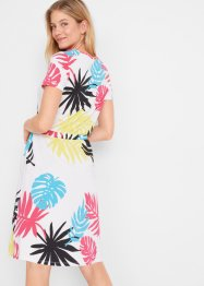 Jurk met palmbladeren, bpc bonprix collection