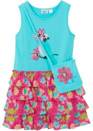 Jersey jurk met strandtasje (2-dlg. set), bpc bonprix collection