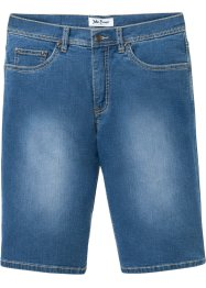 Regular fit soft stretch jeans bermuda, John Baner JEANSWEAR