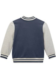 Sweatvest in college stijl, bpc bonprix collection