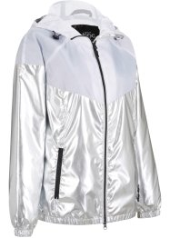 Stylish trainingsjack in zilver metallic, bpc bonprix collection