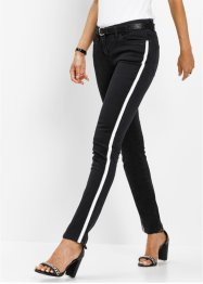Stretch jeans met glinsterende tape, bpc selection