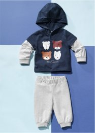 Baby shirt en sweatpants (2-dlg. set) biologisch katoen, bpc bonprix collection