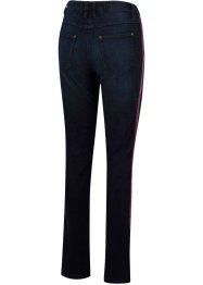 Stretch jeans met fluwelen tapes en comfortband, bpc bonprix collection