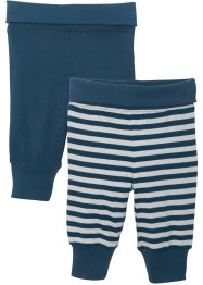 Babybroek van jersey (set van 2) biologisch katoen, bpc bonprix collection