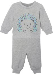 Baby sweater en broek (2-dlg. set) biologisch katoen, bpc bonprix collection